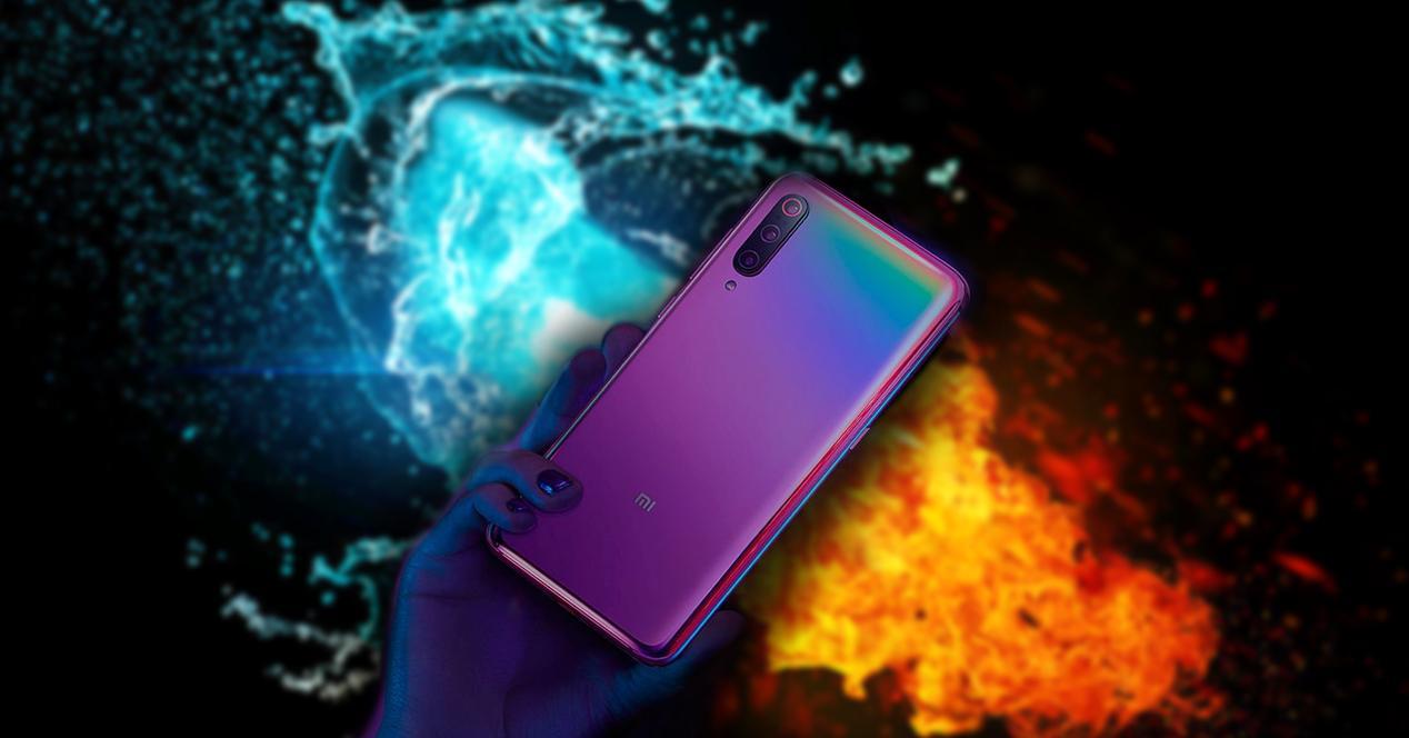 Собственная температура Xiaomi Mi 9