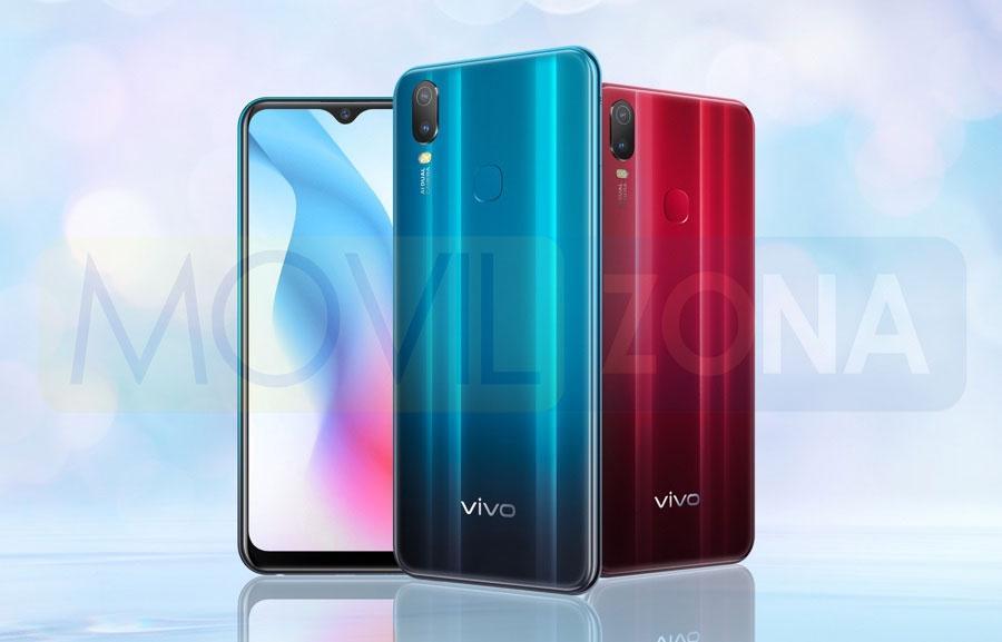 Vivo Y3 Standard Edition colores