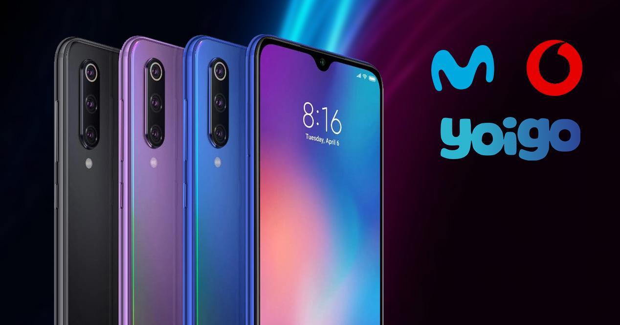Xiaomi Mi 9 Movistar Vodaone Yoigo