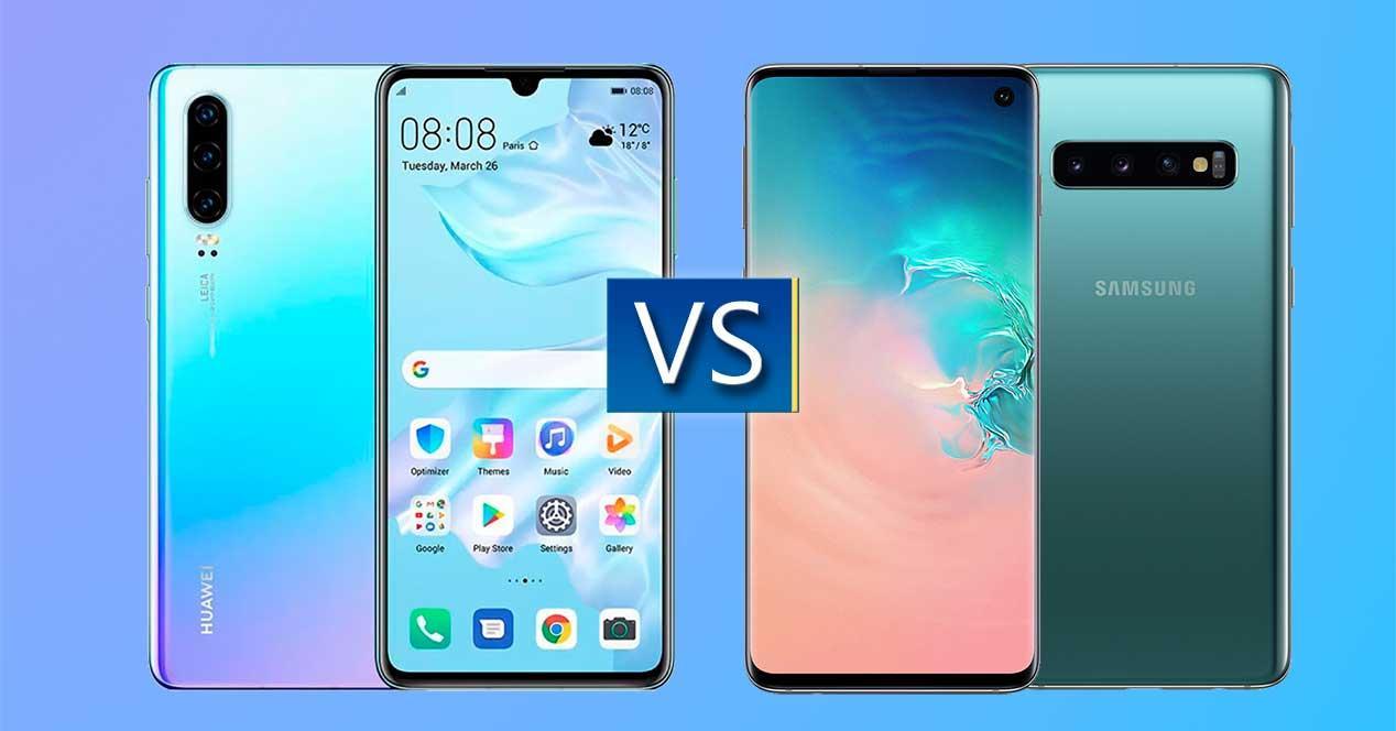 Huawei P30 vs Galaxy S10