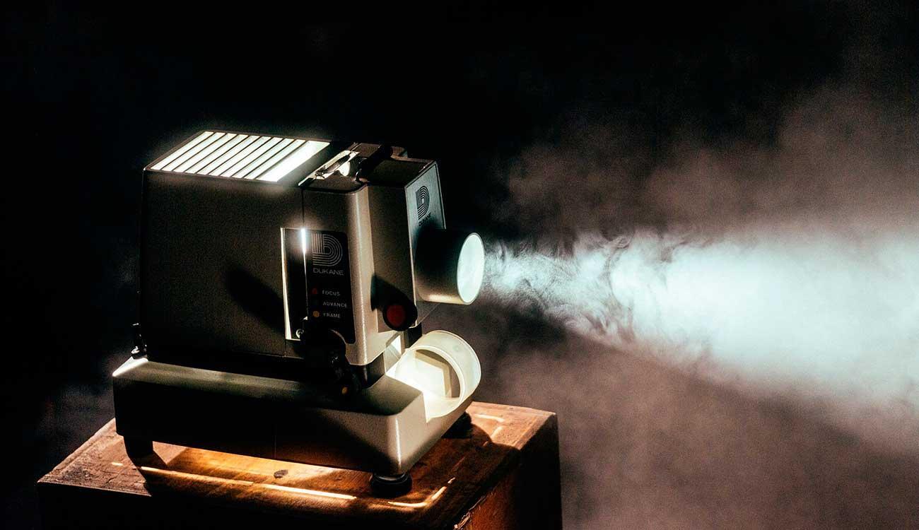 Un proyector antiguo