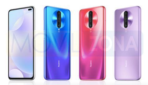Redmi K30 5G colores