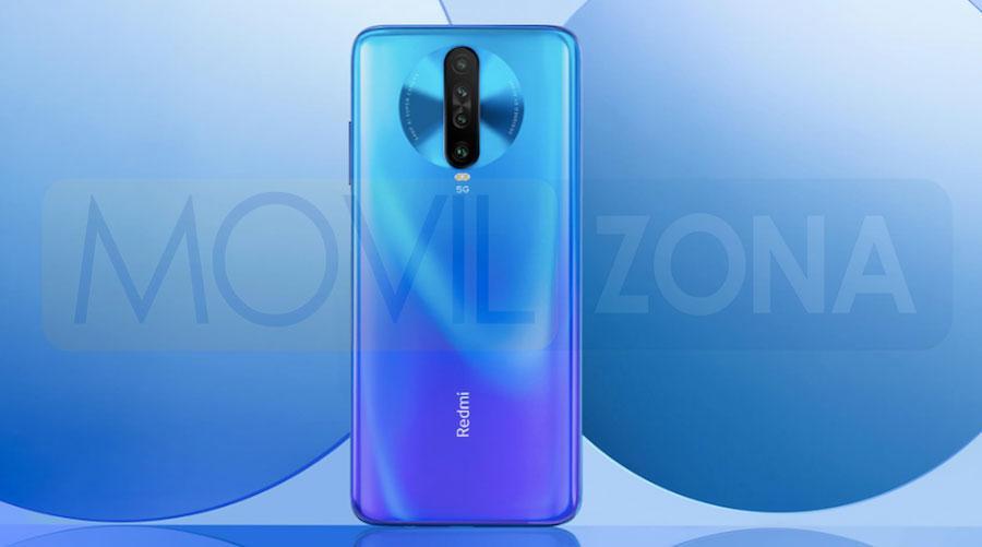 Redmi K30 5G azul
