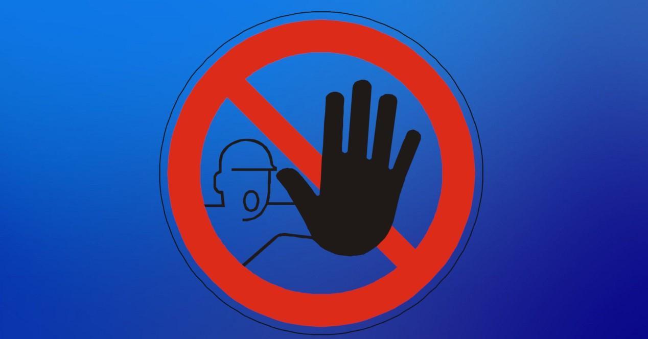 señal de no molestar