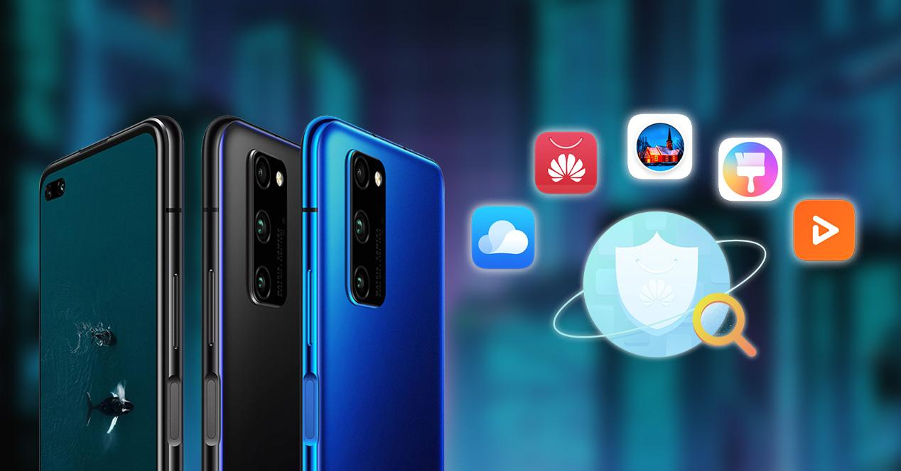 Apps Huawei Honor View 30