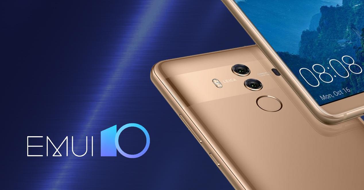 EMUI 10 Huawei Mate 9