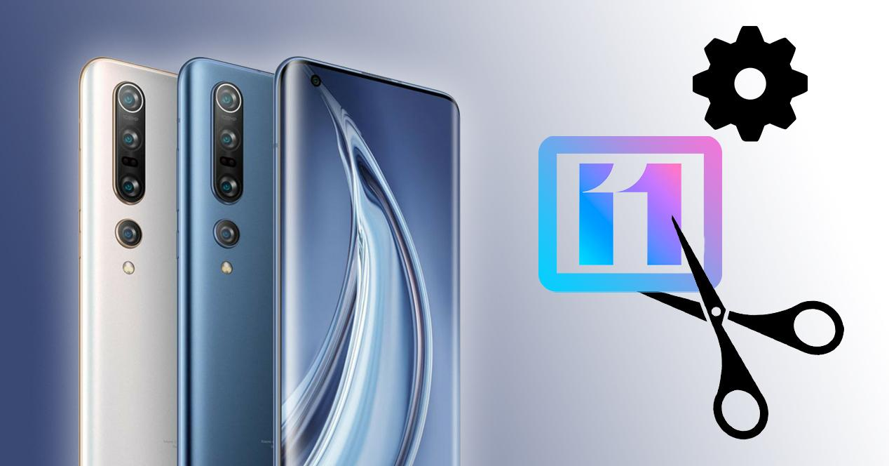 Editor de vídeo MIUI 11 Xiaomi Mi 10