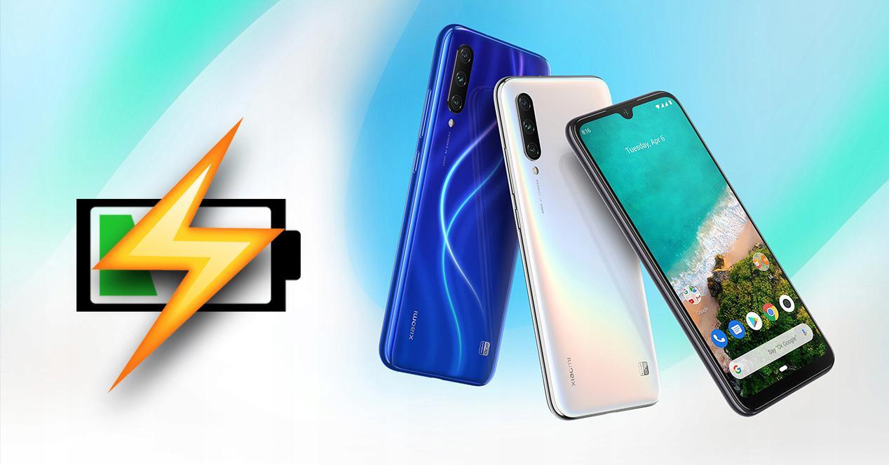 Ahorrar batería Xiaomi Mi A1 A2 A3