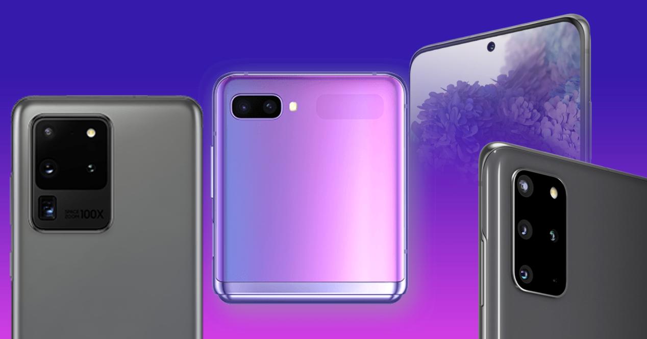 Galaxy S20 y Galaxy Z Flip