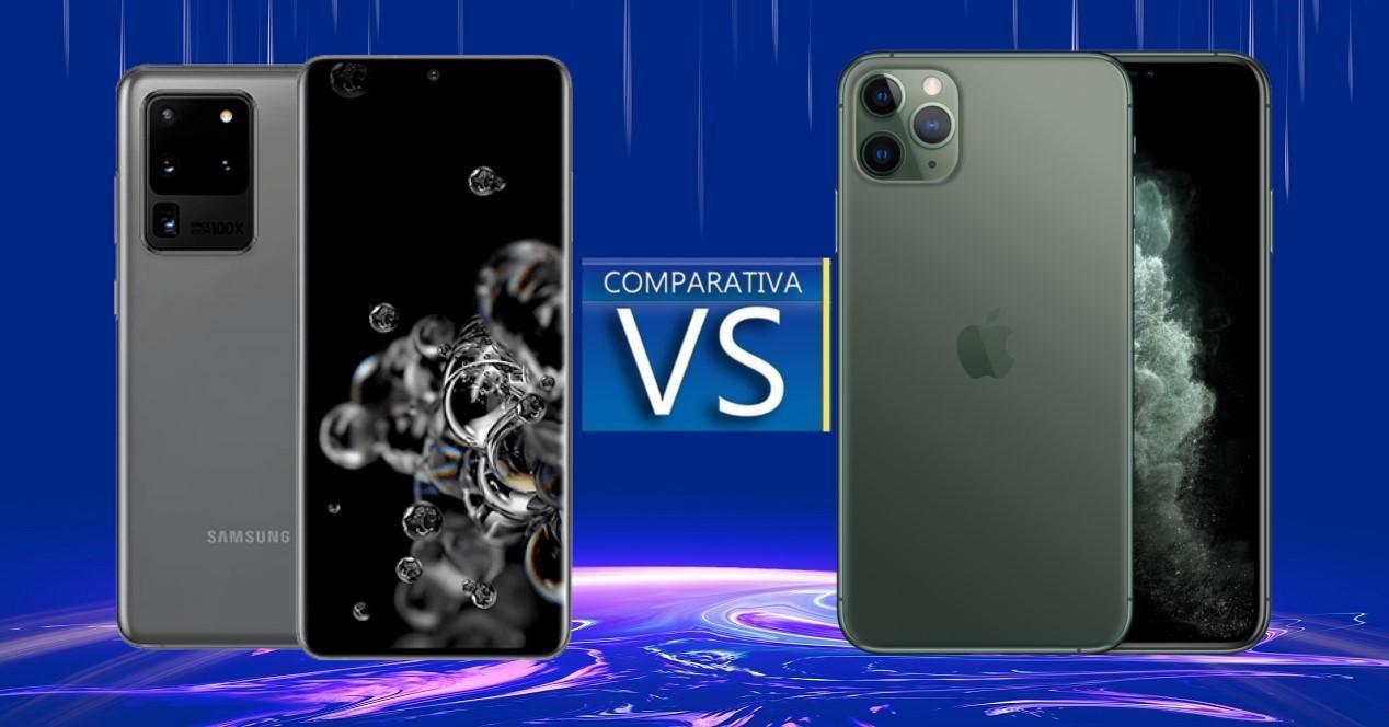 Galxay S20 Ultra vs iPhone 11 Pro Max