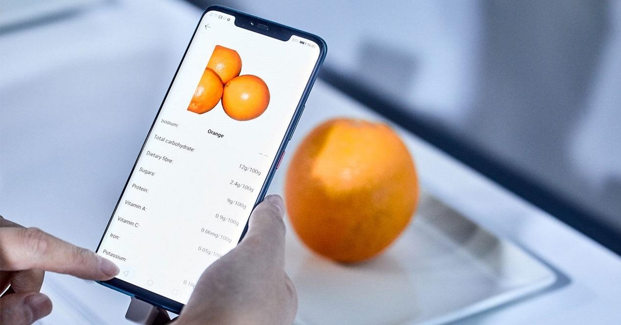 Huawei contar calorías
