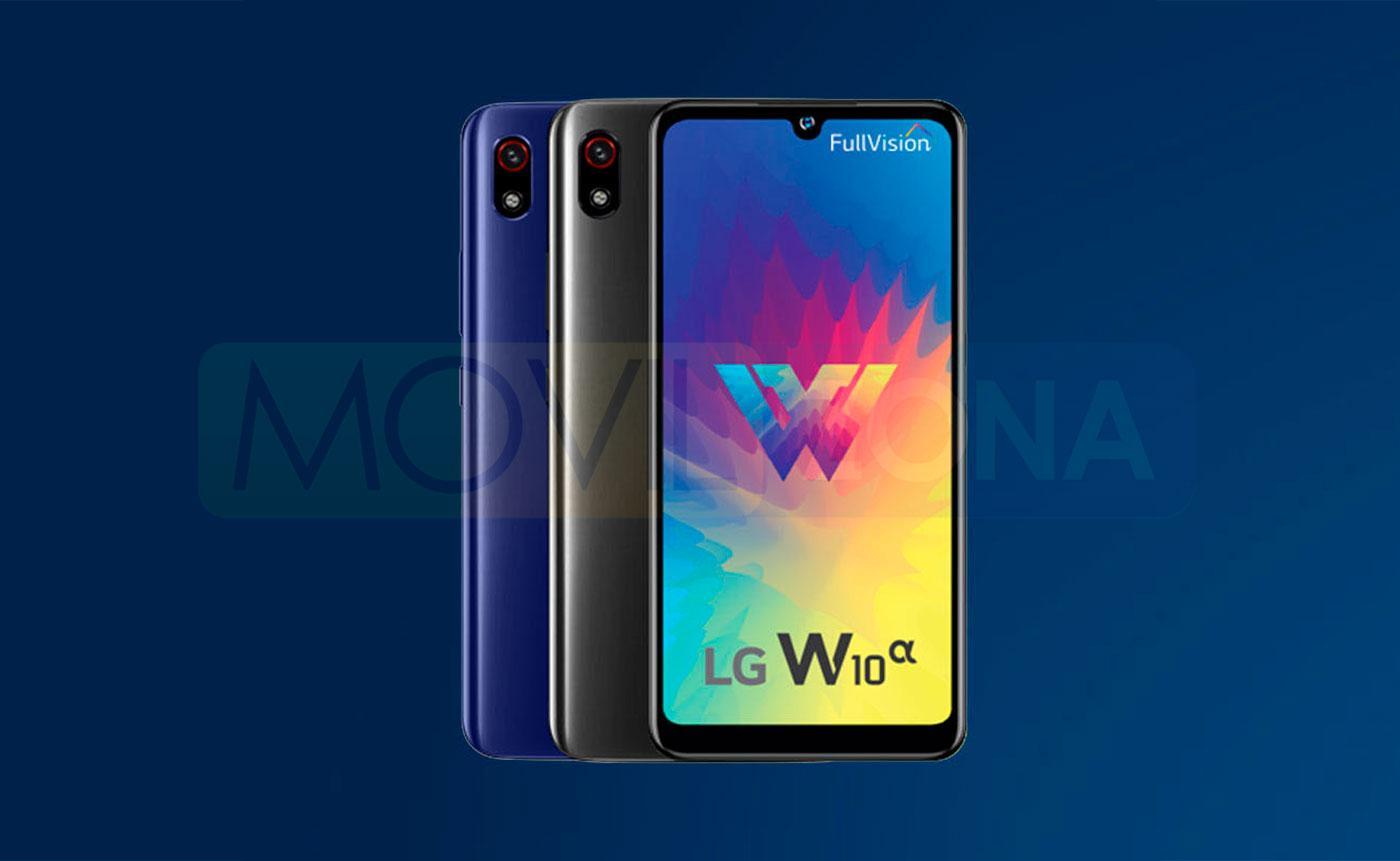 LG W10 Alpha diseño