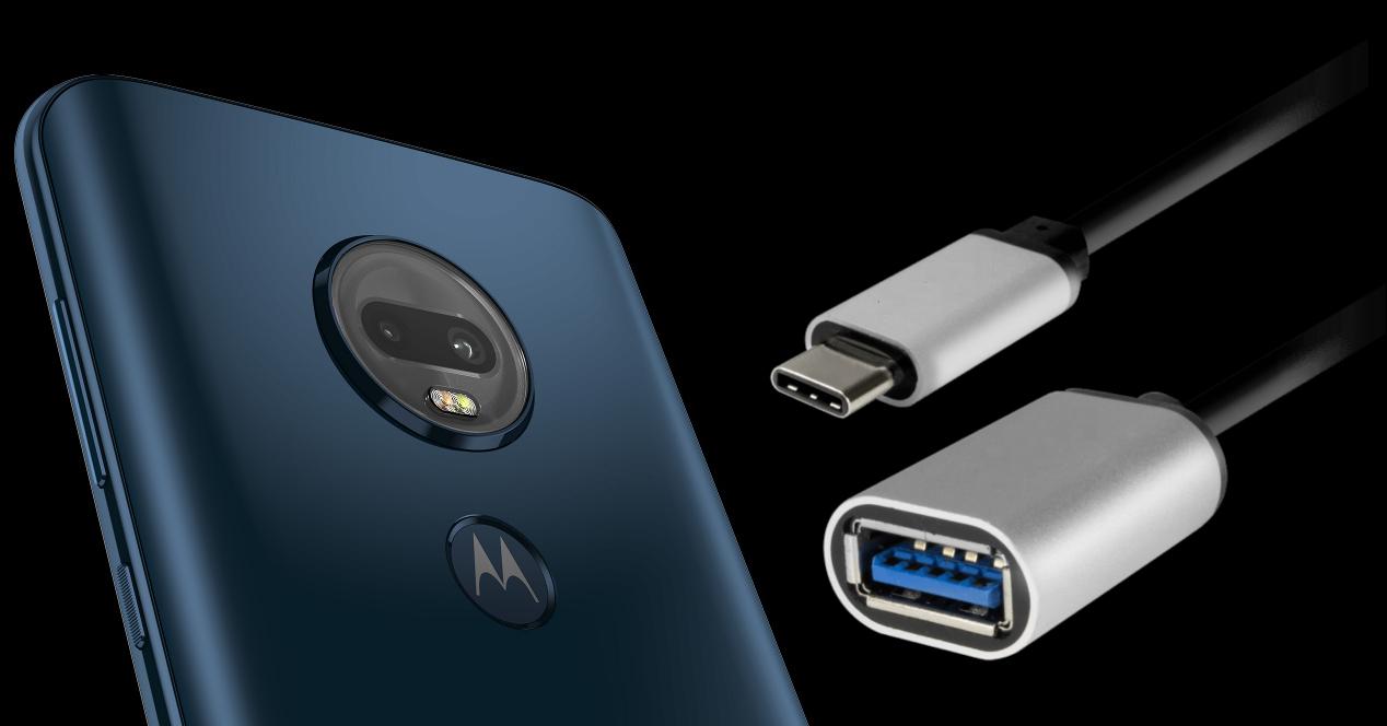 Moto G7 Plus OTG adaptor