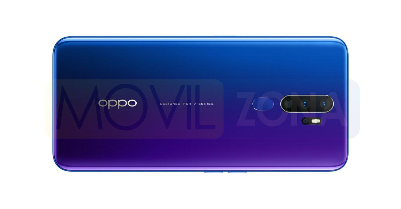 OPPO A9 2020 trasera