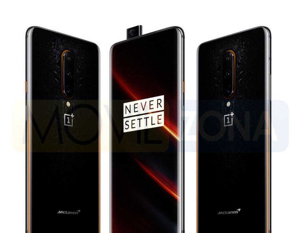 OnePlus 7T Pro McLaren Edition diseño