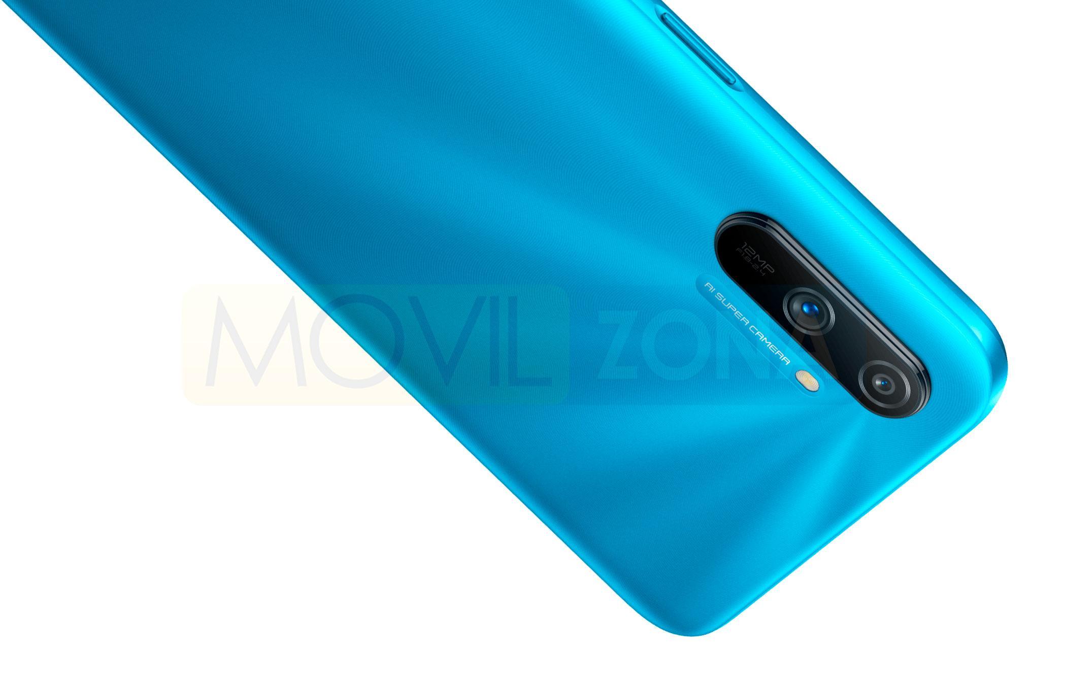 Realme C3 cámara azul