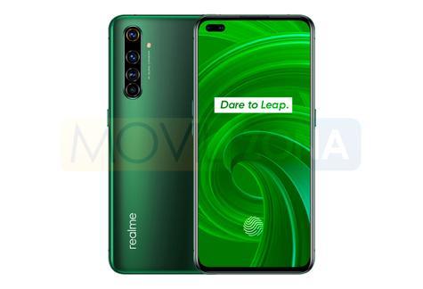 Realme X50 Pro diseño verde