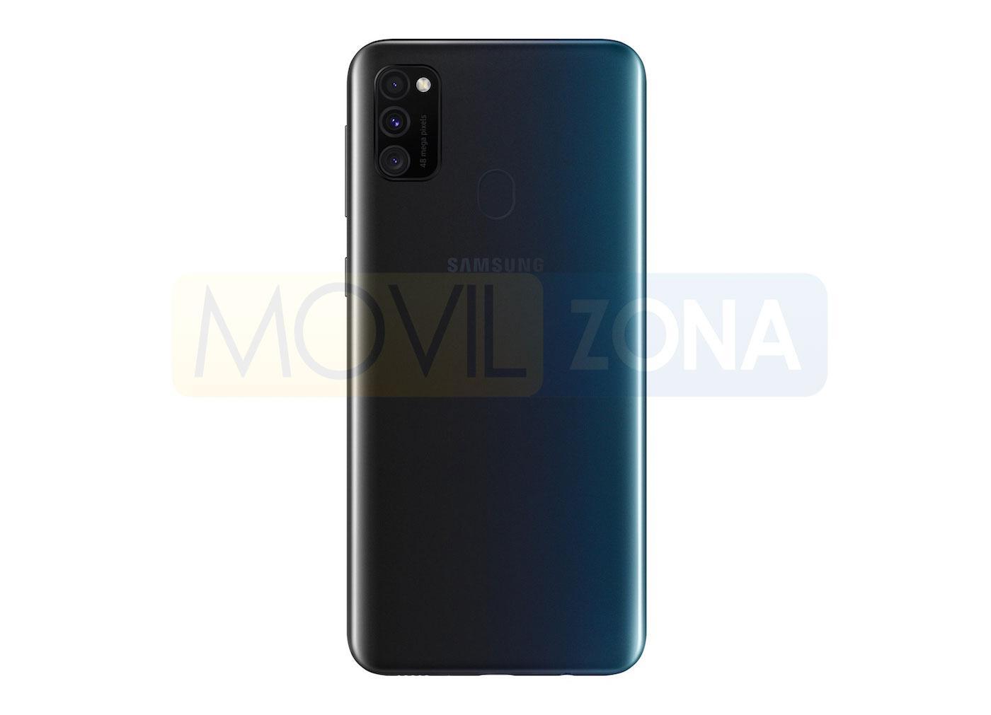 Samsung Galaxy M30s trasera