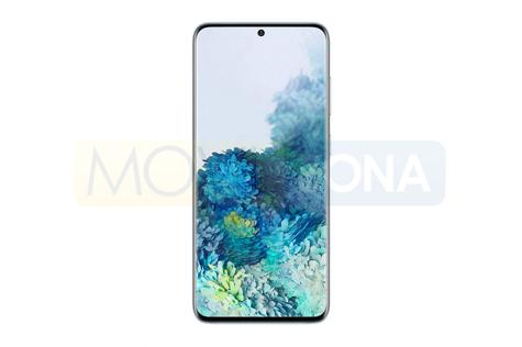 Samsung Galaxy S20 frontal