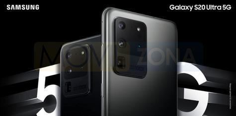 Samsung Galaxy S20 Ultra cámara
