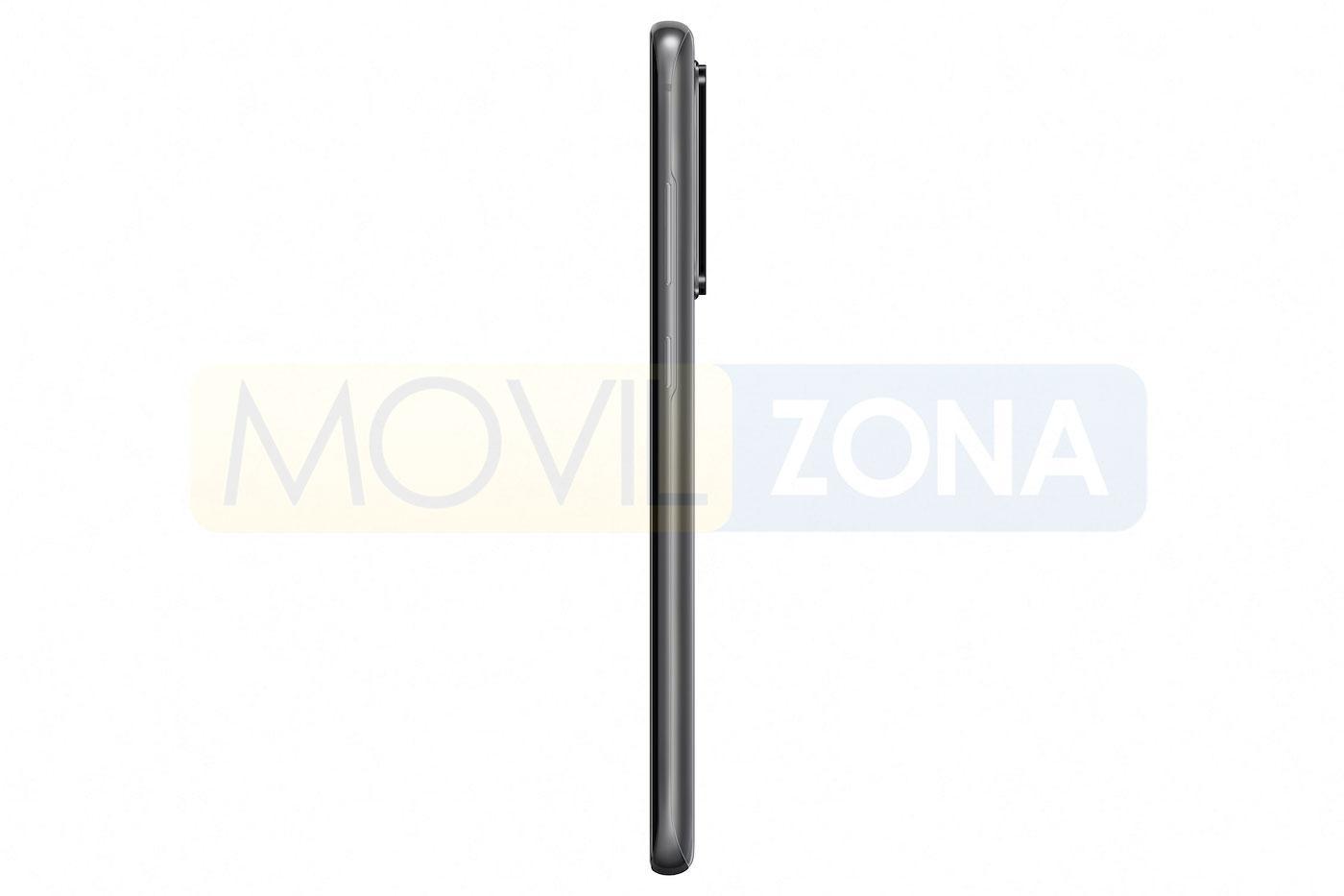 Samsung Galaxy S20 Ultra perfil