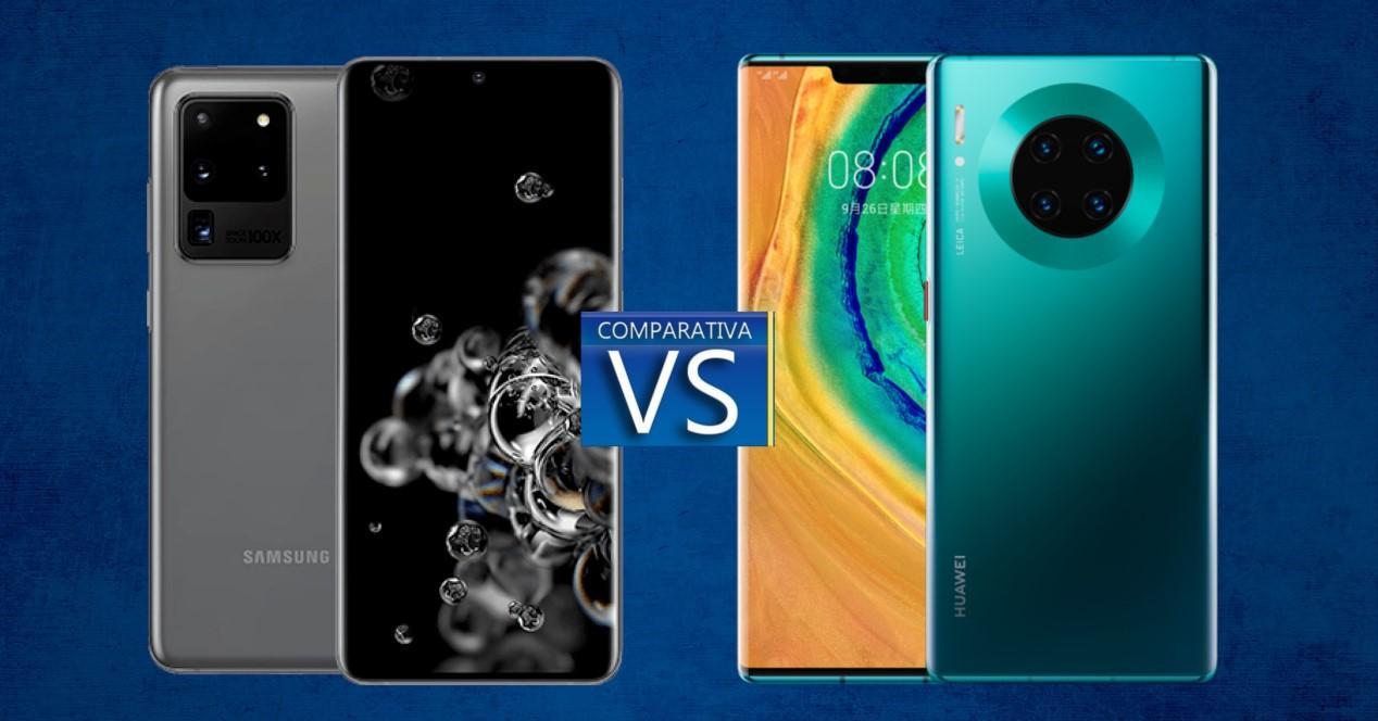 Samsung Galaxy S20 Ultra vs Huawei Mate 30