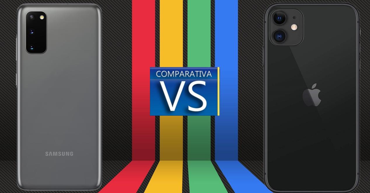 Samsung Galaxy S20 vs iPhone 11