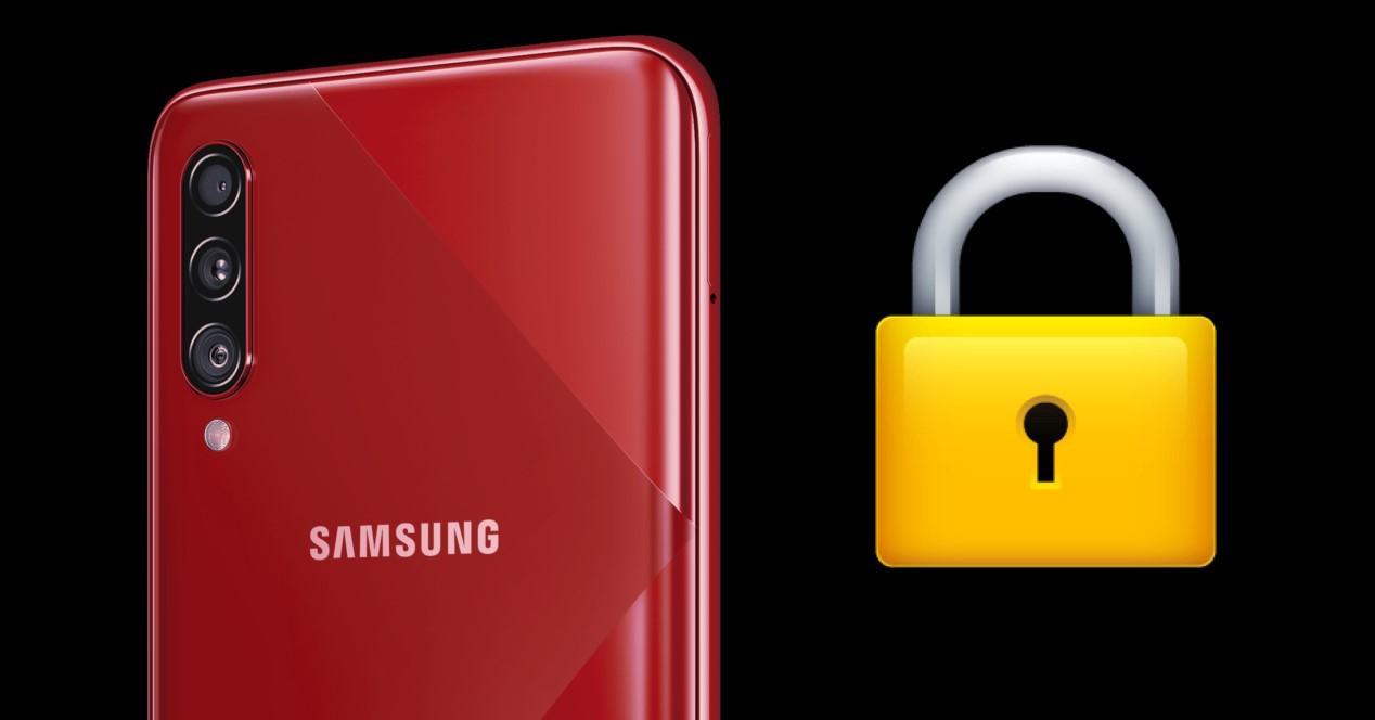 Samsung Modo seguro
