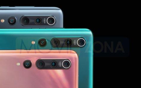 Xiaomi Mi 10 cámaras y colores