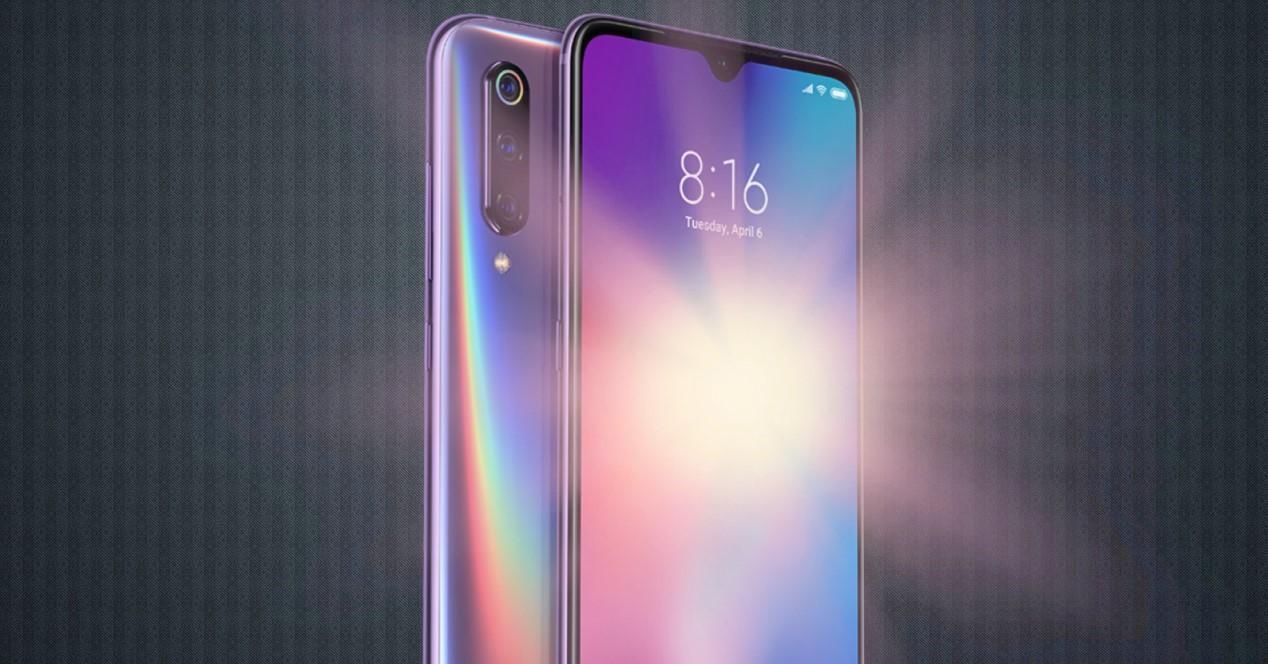 Xiaomi Mi 9 brillo de pantalla