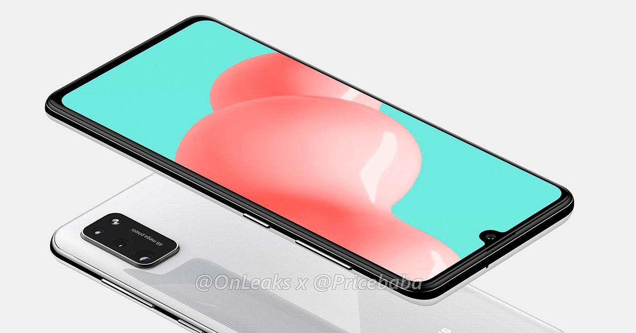 El Samsung Galaxy A41