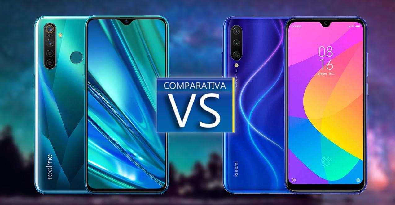 comparativa realme 5 pro vs xiaomi mi a3
