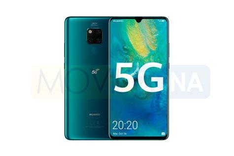 Huawei Mate 20 X 5G diseño
