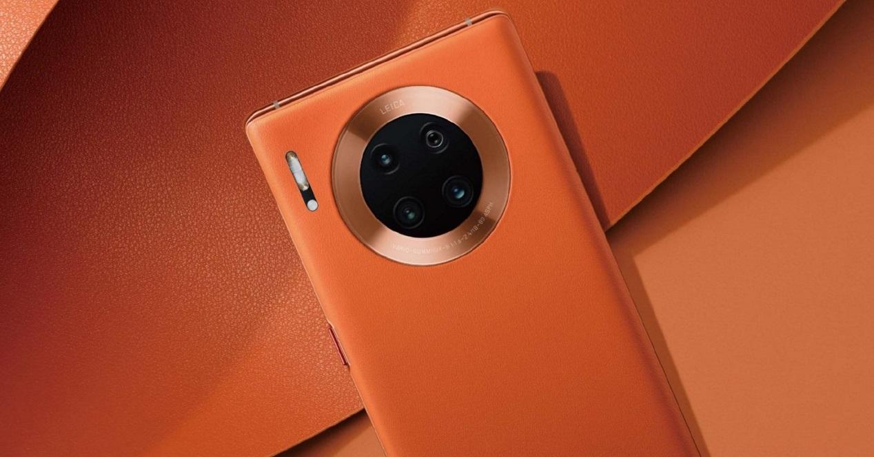 Huawei Mate 30 Pro naranja