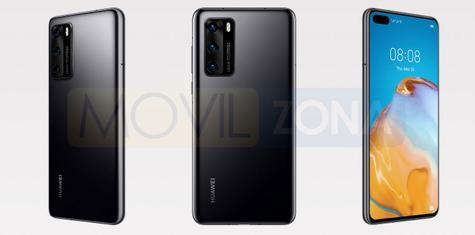 Huawei P40 negro