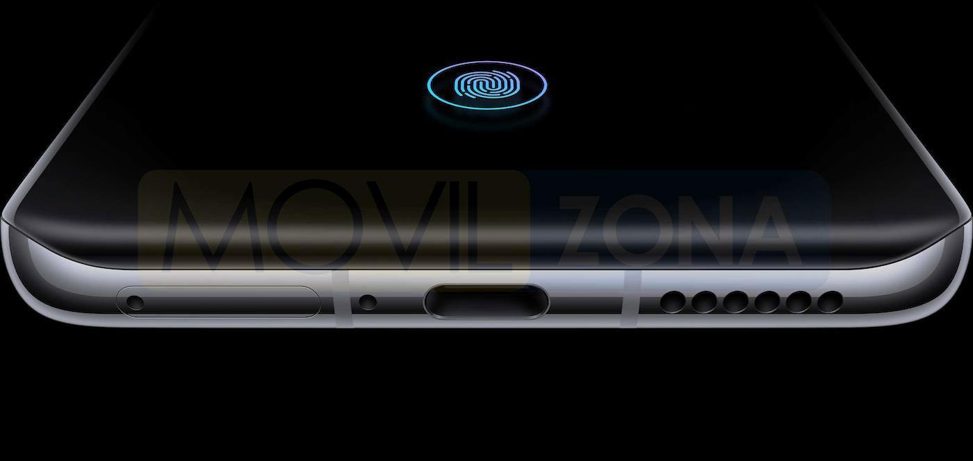 Huawei P40 Pro huella