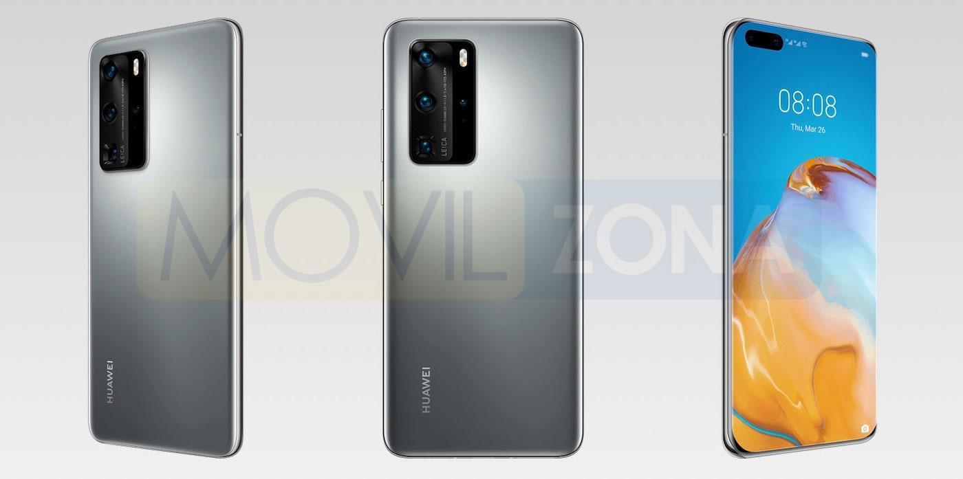 Huawei P40 Pro gris
