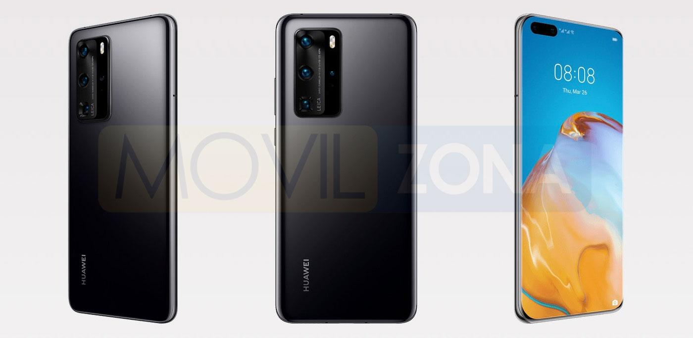 Huawei P40 Pro negro