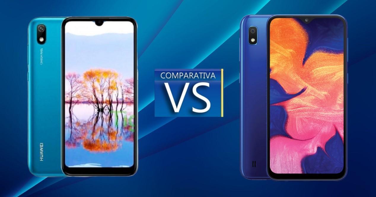 Huawei Y5 2019 vs Samsung Galaxy A10