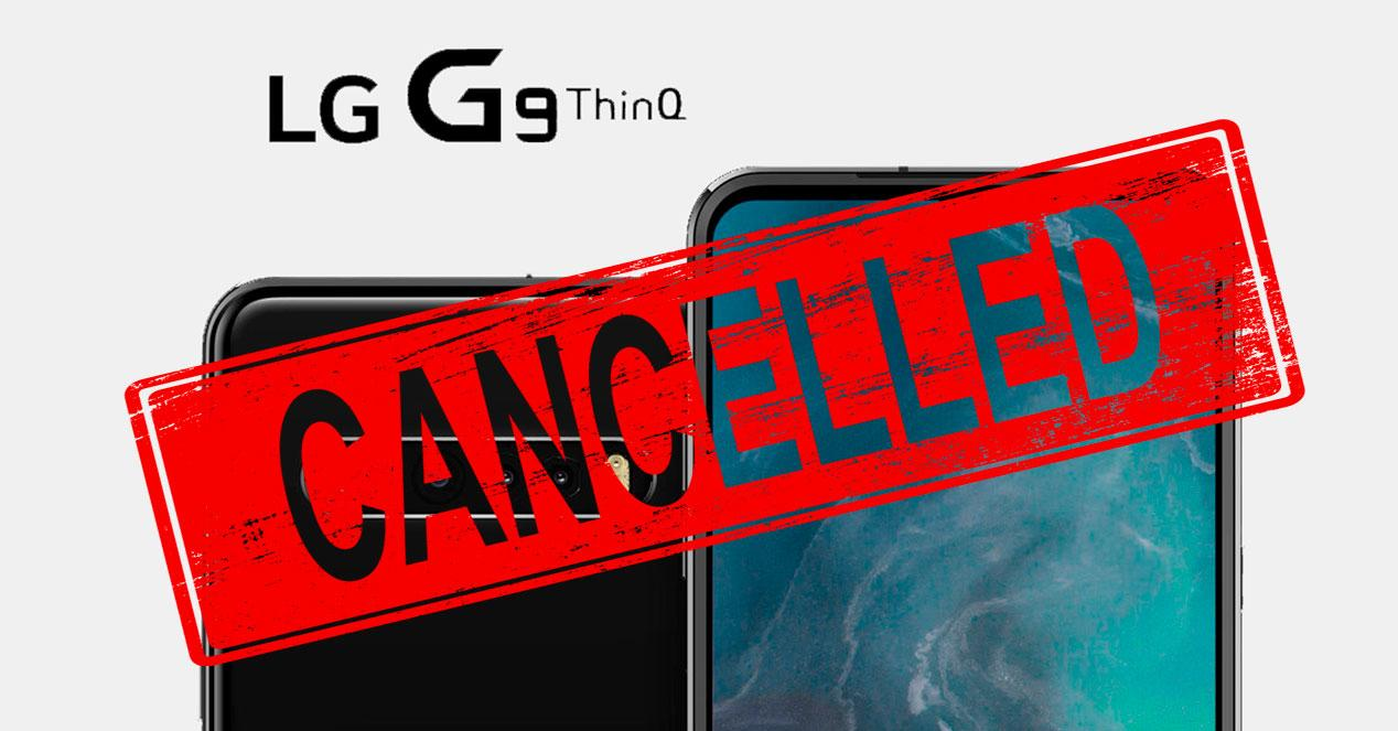 LG G9 Cancelado
