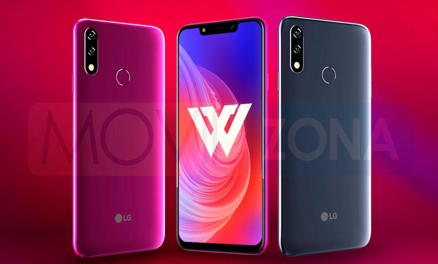 LG W10 diseño