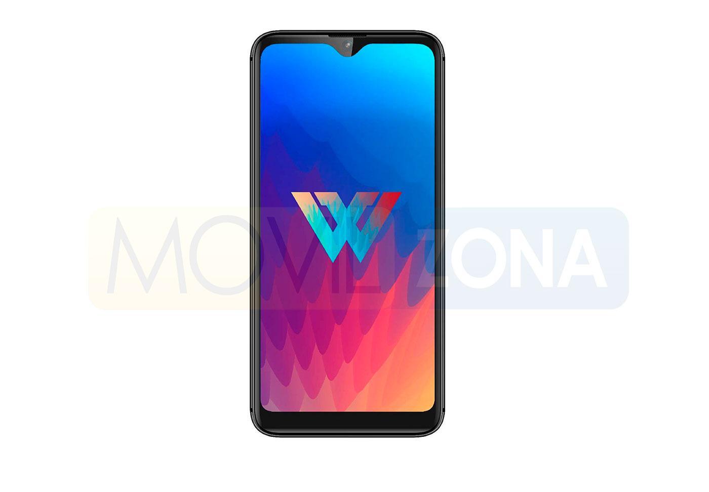 LG W30 pantalla