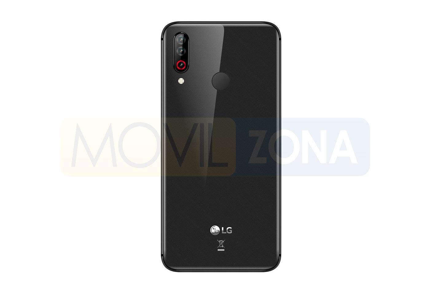 LG W30 trasera