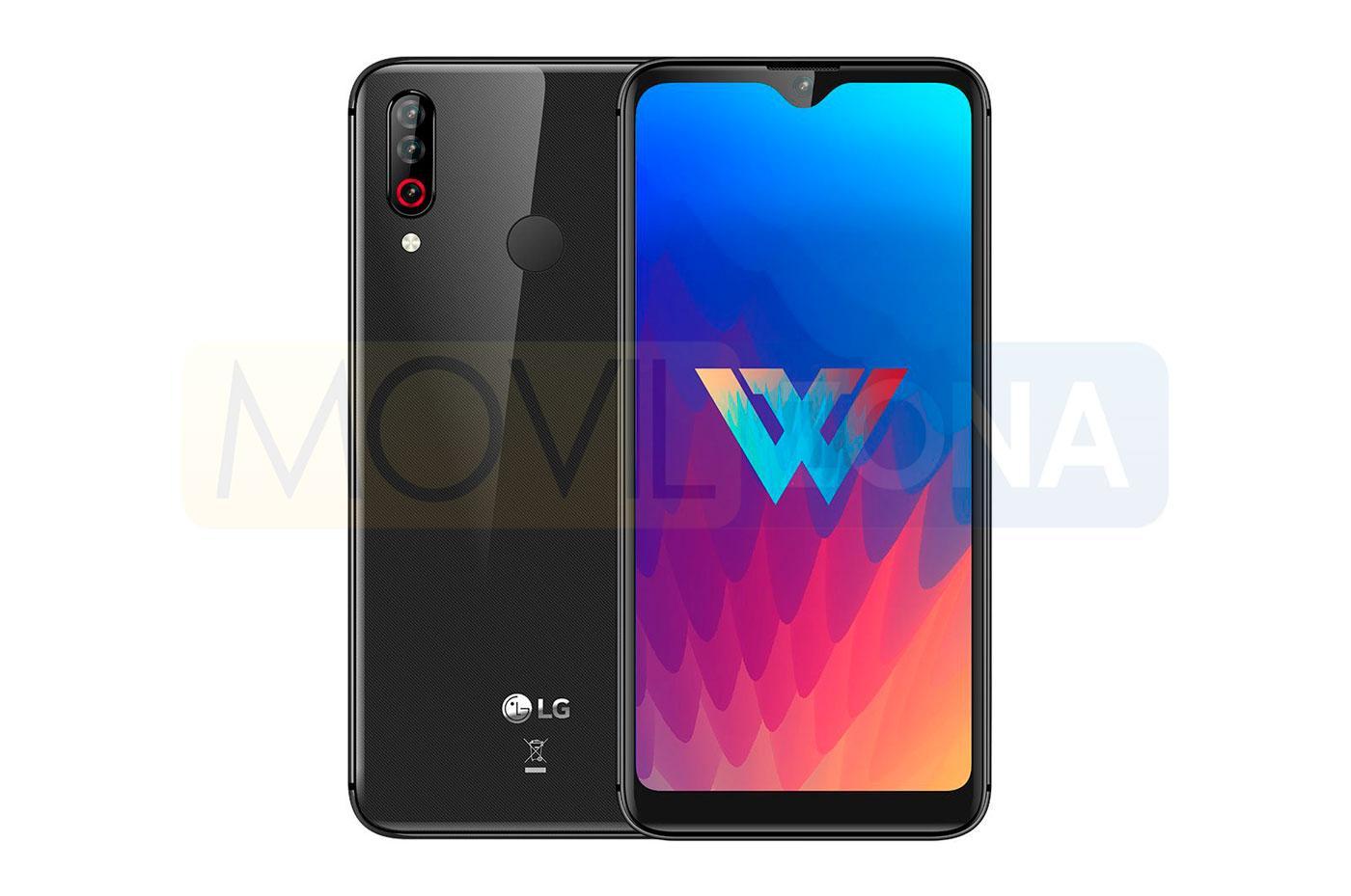 LG W30 negro