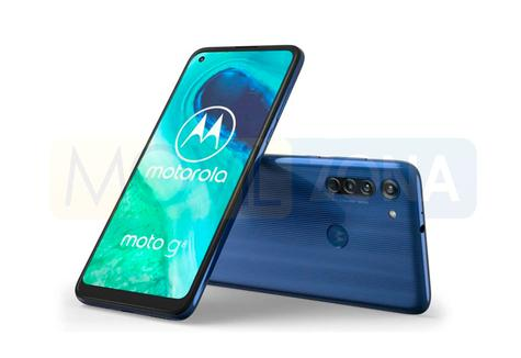 Moto G8 azul