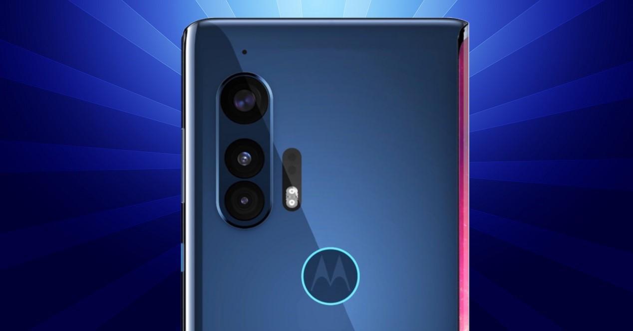 Motorola Edge+ detalle de las camaras