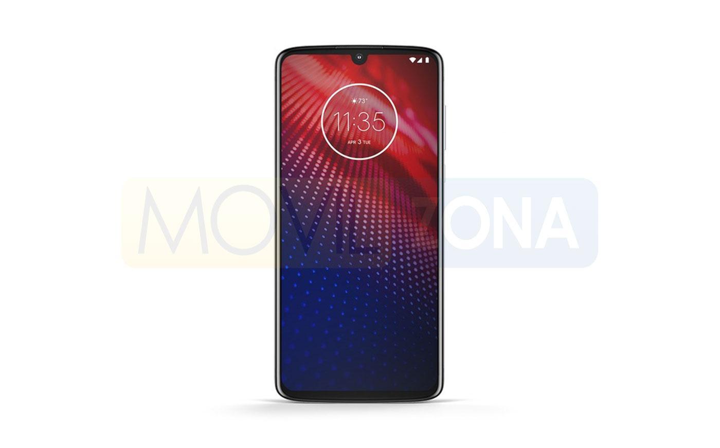 Motorola Moto Z4 pantalla