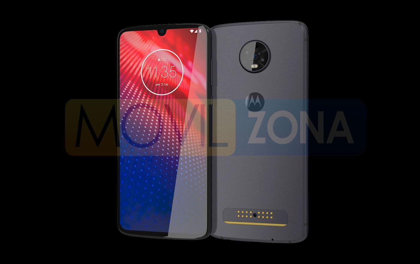 Motorola Moto Z4 diseño