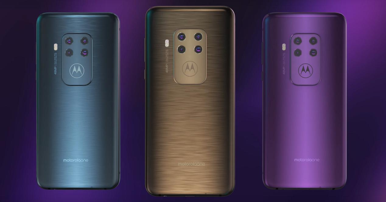 Motorola One Zoom colores 01