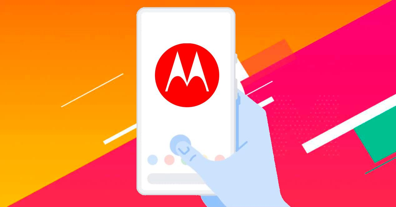Motorola barra de navegación